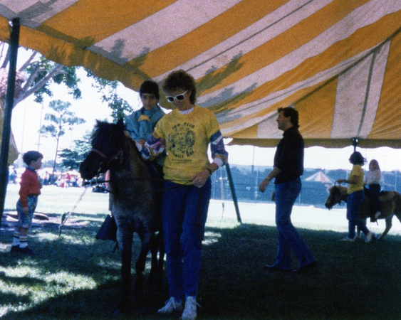 IBM Family Day, Boca, late 80's, Remember them?